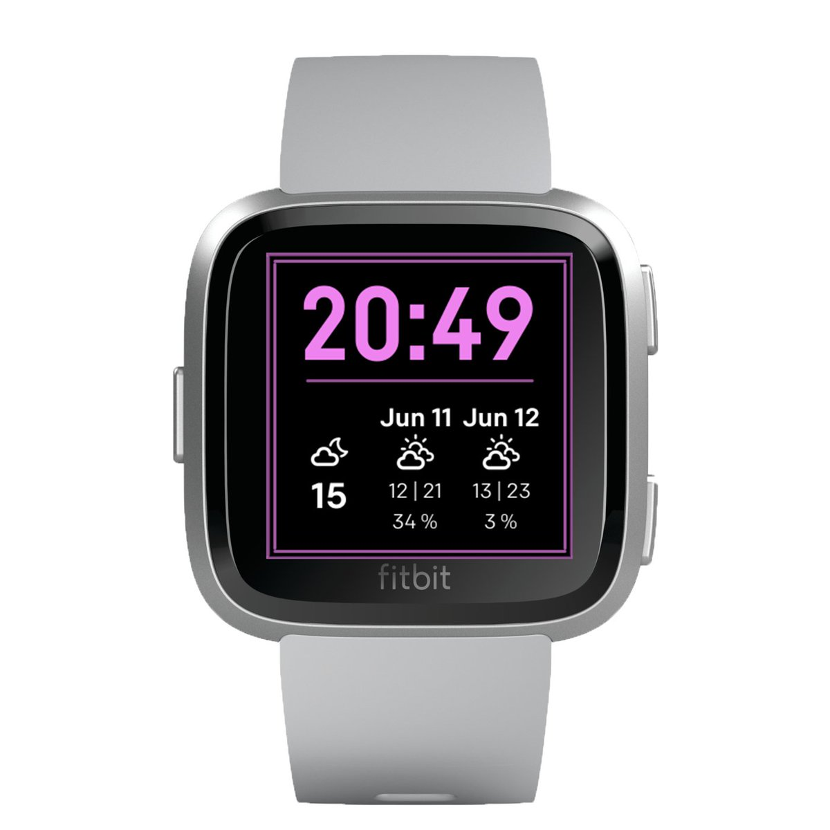 http://www.watchfacestore.com/fitbit  has amazing #fitbit #watchfaces. Get to know the The Weather Forecast. A clean and comfortable to read face that shows the time and the detailed 2-day weather report..#fitbitversa2 #fitbitversa #fitbitionic #fitness #made4fitbit #clockface #watch #apppic.twitter.com/NbcmsEKJ3K