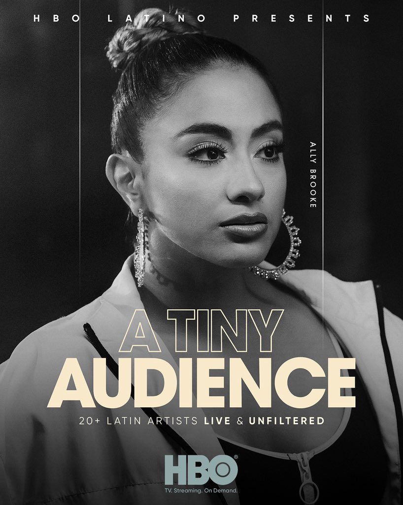 Tune in to @HBOLatino at 2pm ET to see my episode of @ATinyAudience! ❤️ #ATinyAudienceHBO