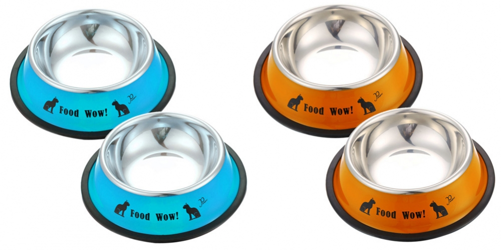 #love #outfit Stainless Steel Anti-Skid Feeding Bowls For Pets