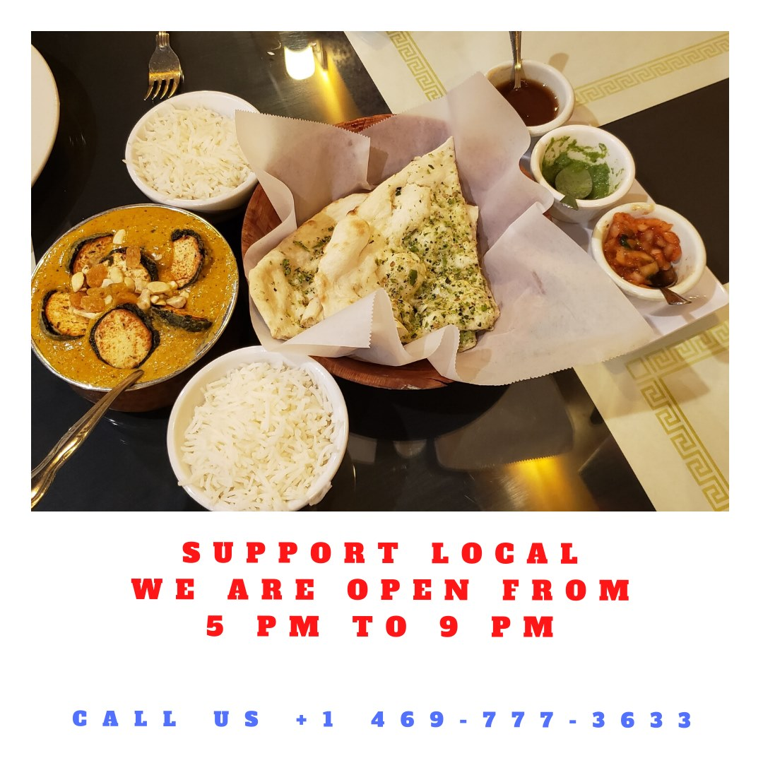 We are open from 5 pm to 9 pm only. Place your delivery or pick up orders right away-- or call us at +1 469-777-3633 . #ordernow #orderonline #Indian #Indianfood #desi #desifood #foodie #Maharaja #MaharajaIndianRestuarant #Littleelm #texas