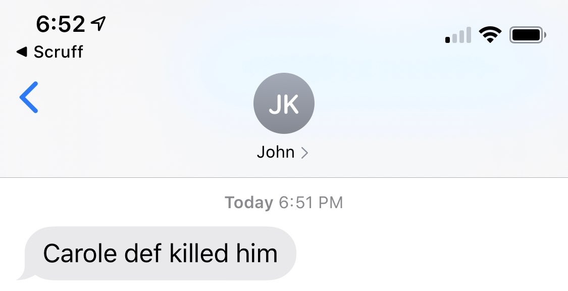 Just two incredible texts from my landlord