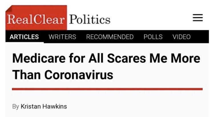 Did the coronavirus write this