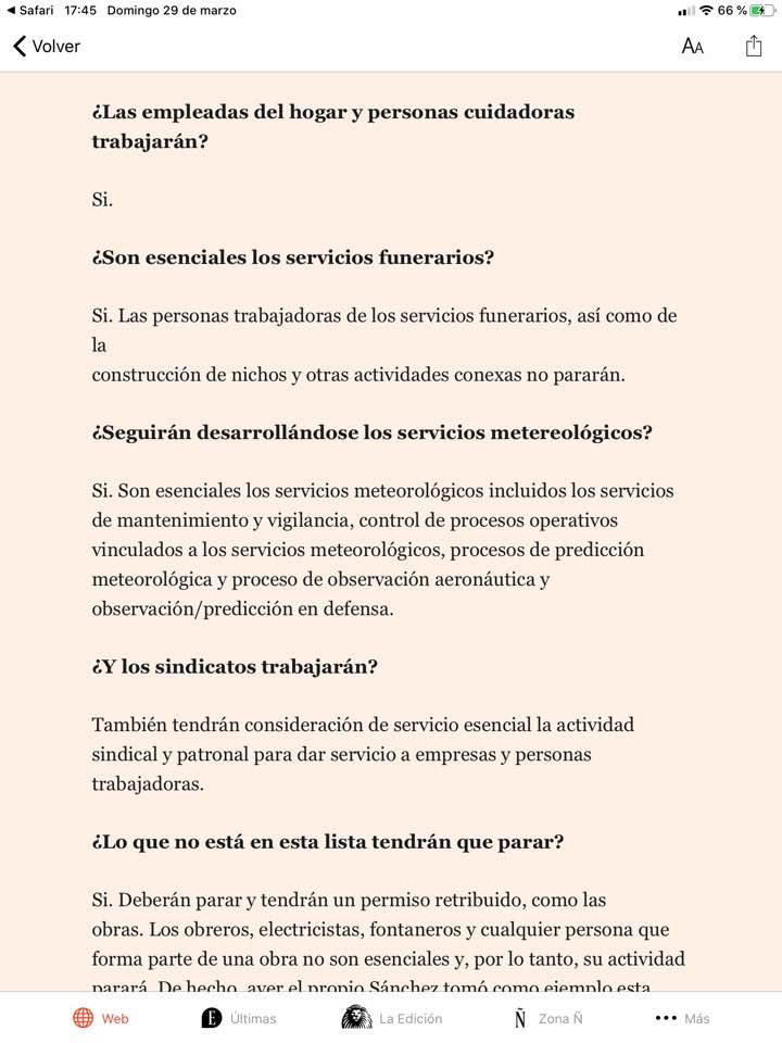 #EnCuarentena #confinamentolector  Pedro: Cómo libramos a nuestros camaradas sindicalistas para que se den vueltas y no se mosqueen?  Pablo: mételos en servicios esenciales, a q no hay huevos?  Pedro: Sujétame el cubata!  Pablo: Eres el pxxx amo!  #DesmontandoMentiraspic.twitter.com/cz7IoHtppU