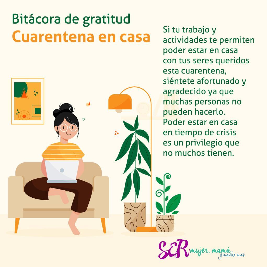 Hoy en nuestra #bitácoradelagratitud queremos dar las gracias por los que tenemos la oportunidad de hacer cuarentena en casa, porque además de ser muy afortunados, estamos cuidando de los nuestros y de los otros también. #agradecer #cuarentenaencasa #QuedateEnCasa