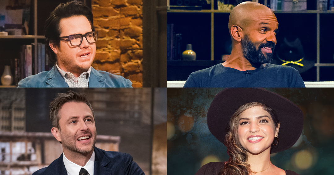 """Tonight on AMC, it's a brand spankin' new episode of #TalkingDead: Home Edition, right after #TWD. Coming at you from THEIR couches we've got Josh McDermitt, Khary Payton and Paola """"Princess"""" Lázaro! See you then!"""