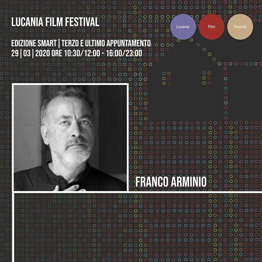Siamo in diretta con lo scrittore #FrancoArminio. ...