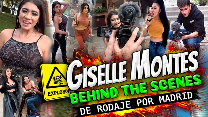 ❤ ¡¡NUEVO VÍDEO!! ❤  Detrás de las cámaras con Giselle Montes (@GiselleMontes18): Lo que no pudiste ver