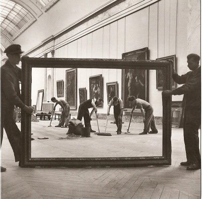 Pierre Jahan  Spring cleaning in the Great Hall. @MuseeLouvre #Paris 1947 pic.twitter.com/GNKjYJscsq