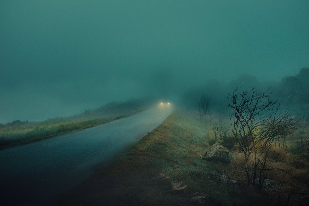 Wandering in deserted roads