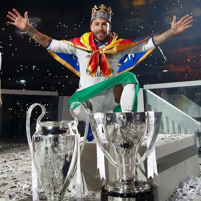 Happy birthday to the greatest defender of all time. Happy birthday to the King SERGIO RAMOS.