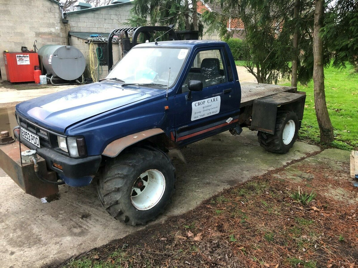 Classic Projects On Twitter Low Mileage Toyota Hilux 4x4 See Ebay Ad Https T Co Vqax2re2eg Toyota Hilux 4x4 Offroad Classiccar