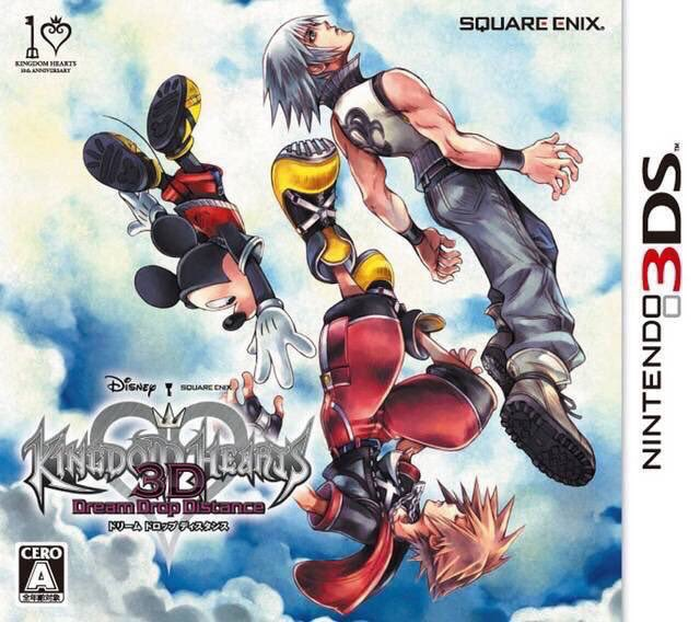 Kingdom Hearts 3D: Dream Drop Distance for 3ds was released on this day in Japan, 8 years ago (2012)