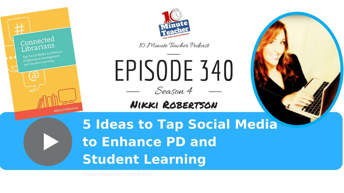 5 Ideas to Tap into Social Media for #pd and Learning
