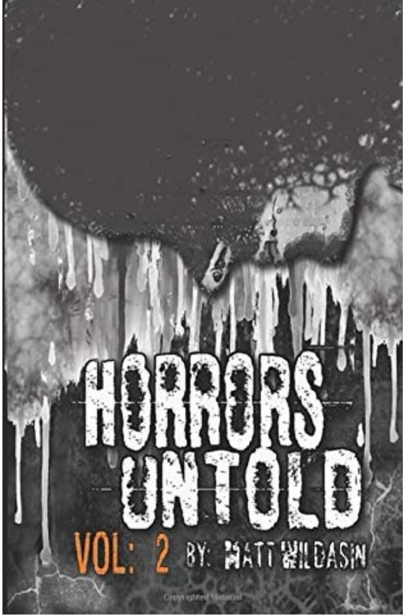 If youre looking for a new book to keep you occupied during this extended quarantine, might I suggest my new book: Horrors Untold Vol 2. You can get a signed edition for just $13 and that includes shipping! Message me or comment below if interested, thanks!