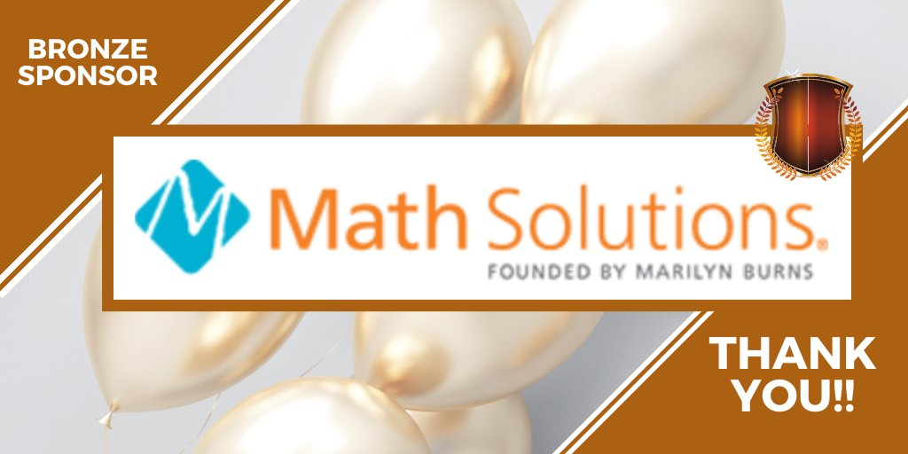 Muchas GRACIAS to our newest elite sponsor, Math Solutions!! #NCSM20 #NCSMbold @Math_Solutions
