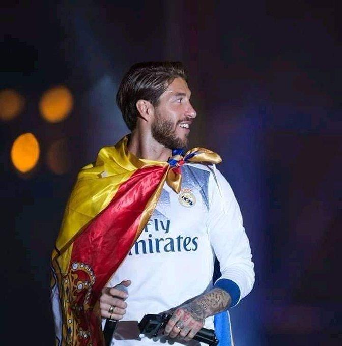 Happy birthday ..Capitano..  Sergio Ramos