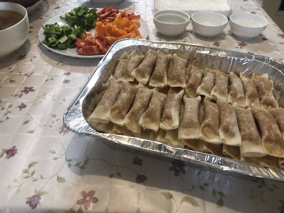 Preparing for catering event! We love lumpia Watch our recipes on YouTube https://www.youtube.com/channel/UCsVZfxs4lnHtTGqWJn5LJ8g…   #cooking #tokyo #catering #eventcatering #tokyofood #cateringevent #filipinofood #dhanieskitchen #lumpiapic.twitter.com/8fn4VQGu75