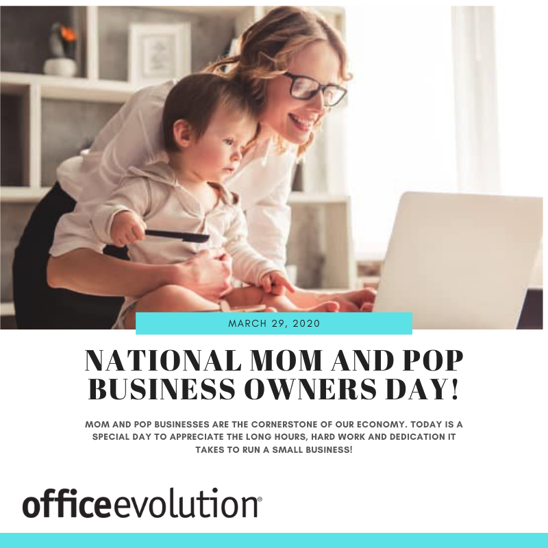Take some time today to appreciate the hard work and dedication it takes to run a small business!  #OfficeEvolution #NationalMomandPopBusinessOwnersDay #smallbusiness #supportsmallbusiness #hardwork #dedication #OEPearlRiver<br>http://pic.twitter.com/UcjVKiIbFG