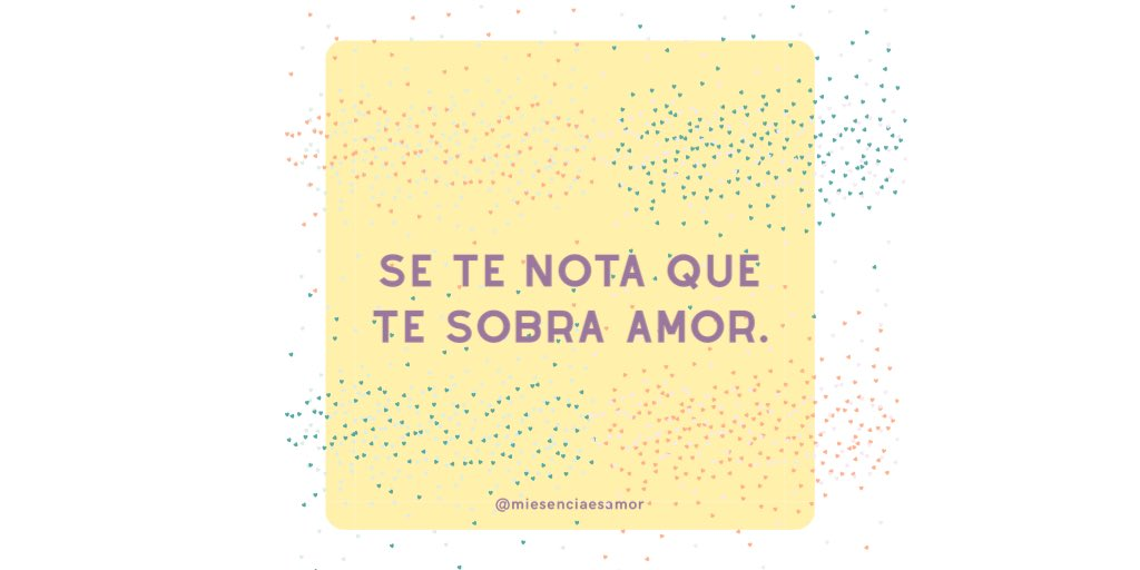 Se te nota  . . . #quotesaboutlove #lovequotes #sharethelove #loveyourself #beloved #loveislovepic.twitter.com/uvjR0M3WkX