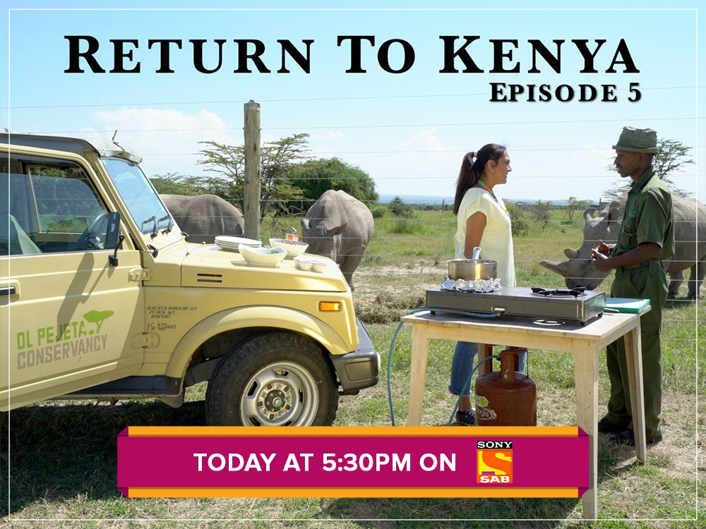 Ever wondered what it would be like to cook in the middle of a National Park?   Catch Chef Anita doing just that today at 5:30pm on #ReturnToKenya only on #SonySABUK.  @anitasVkitchen #kenya #food #chef #culinaryarts #cooking #africa #localfood #cuisine
