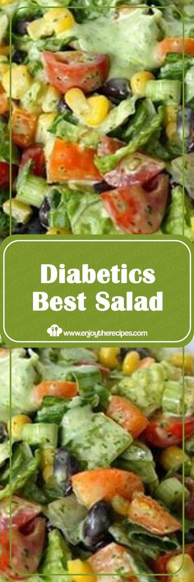 Replying to @MrGeorgeOgden: Diabetics Best Salad - Enjoy The Recipes #recipe #salad #healthyrecipes #vegetable: Diabetics Best Salad - Enjoy The Recipes #recipe #salad #healthyrecipes #vegetable