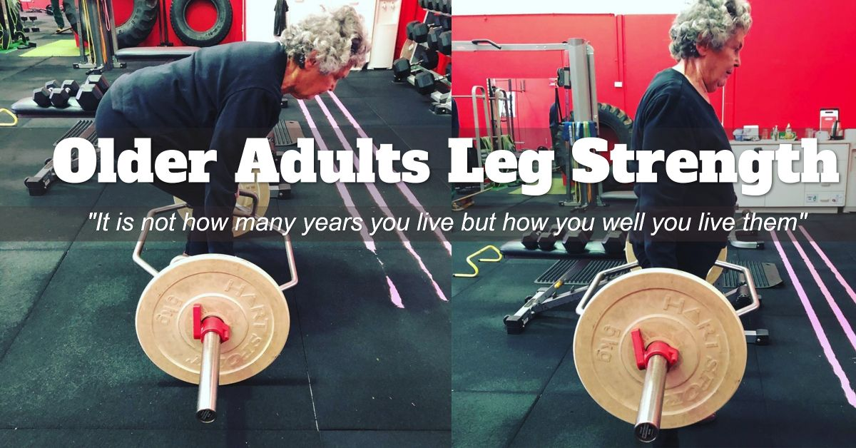 Studies show that deteriorating leg strength is a  predictor of frailty and mortality with older adults. A loss of function in one task can rapidly spread to other activities and the likelihood of #functional impairment increases.  #health #longevity