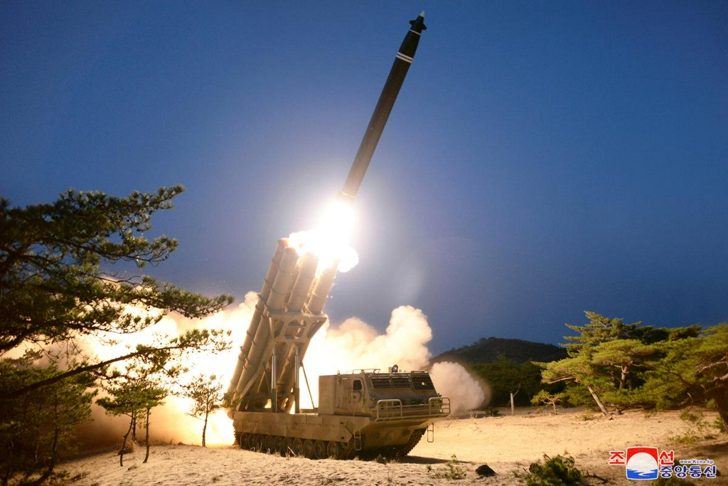 North Korea says it conducted successful test of multiple rocket launchers