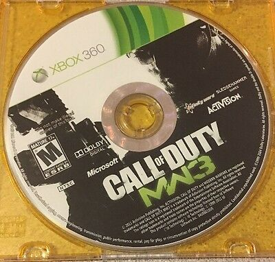 Call of Duty: Modern Warfare 3 (Microsoft Xbox 360, 2011) Disc only!!!! http://dlvr.it/RSp5fM  #gaming #love #nowplayingpic.twitter.com/mgw1LmUyFx