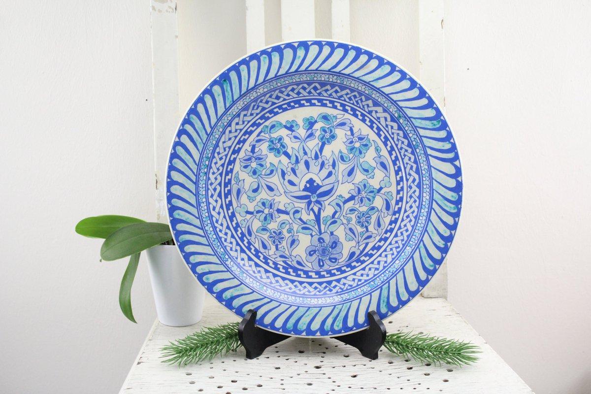 Vintage4moms Werbung On Twitter Vintage Ceramic Wall Plate Wall Decoration Or Serving Design Piece Handmade Turkish Craftsmanship Https T Co Tej93lhxxo Via Etsy Https T Co Nzkilyn5wf