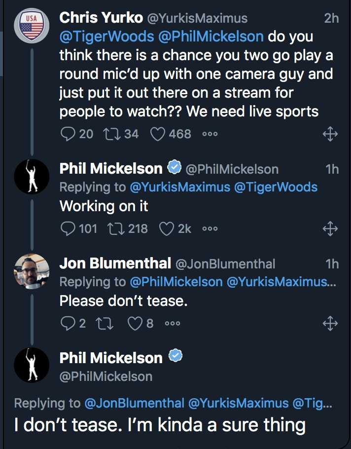 Oh hell…..BRING IT!!!!!!!!! @PhilMickelson @TigerWoods