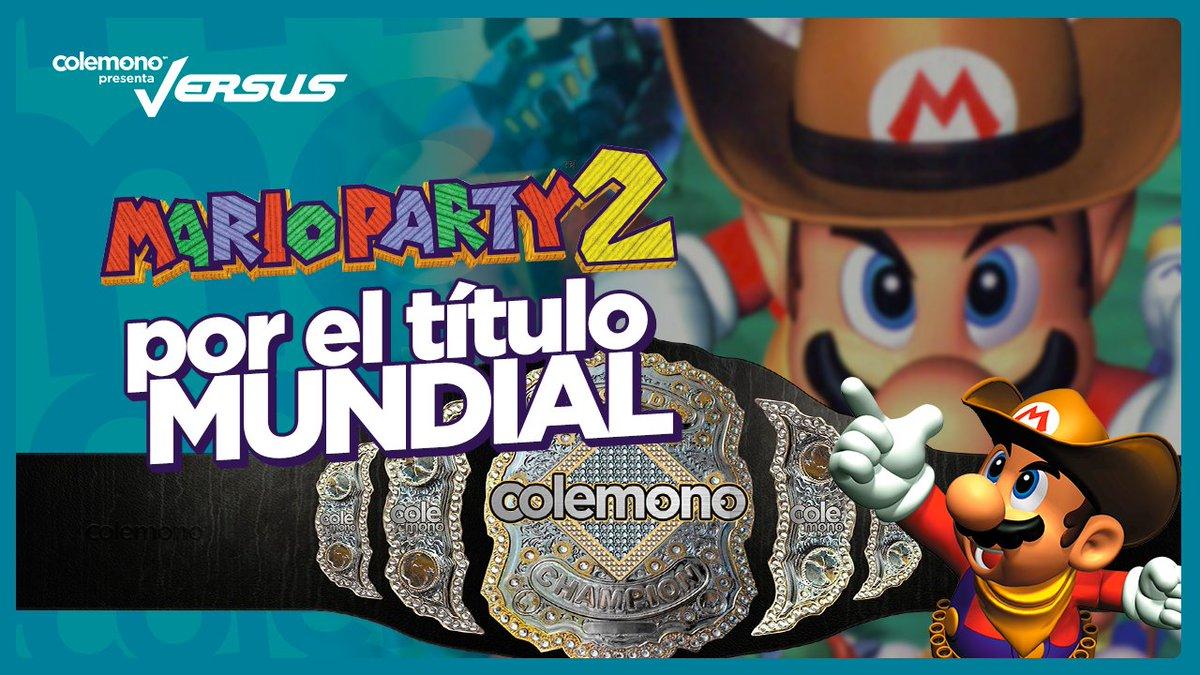 Vamos con el primer #Versus de Colemono, uno dedicado de Mario Party 2 😲 ¡Estamos en vivo! Así que los esperamos por nuestro canal 😋