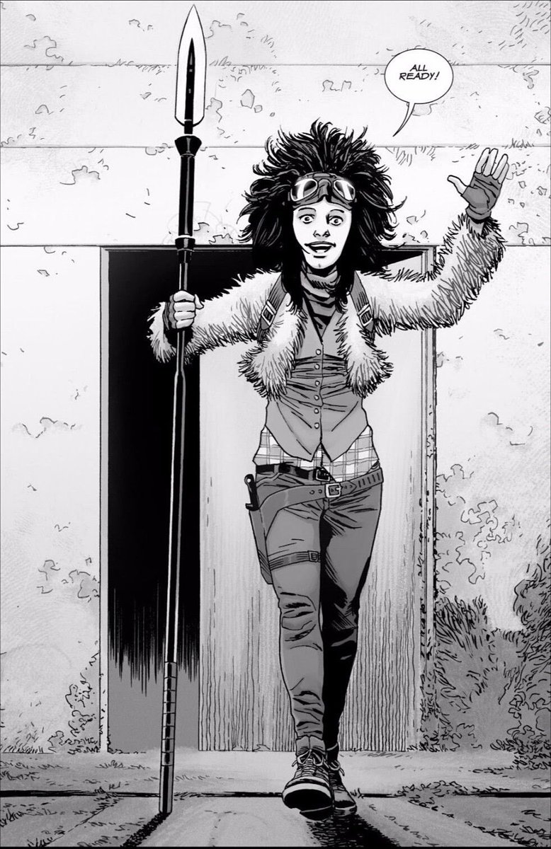 Haven't been this excited for a character since Negan/whisperers!!  sooo happy!! #princess #TWD @AMCTalkingDeadpic.twitter.com/wzAIwyRGq5