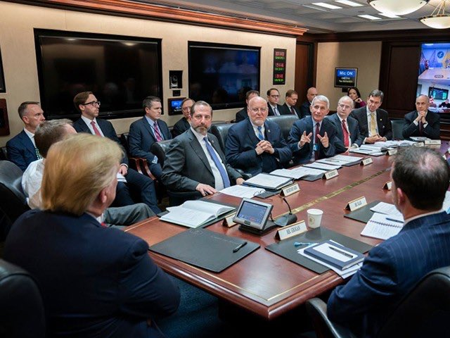 When @realDonaldTrump formed the Wuhan #coronavirus task force in, Nancy Pelosi was passing out her impeachment pens.