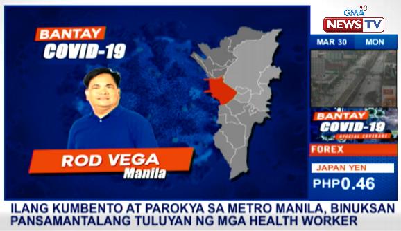 Ilang kumbento at parokya sa Metro Manila, binuksan bilang pansamantalang tuluyan ng mga health worker. #BantayCOVID19 via @Rodveg72