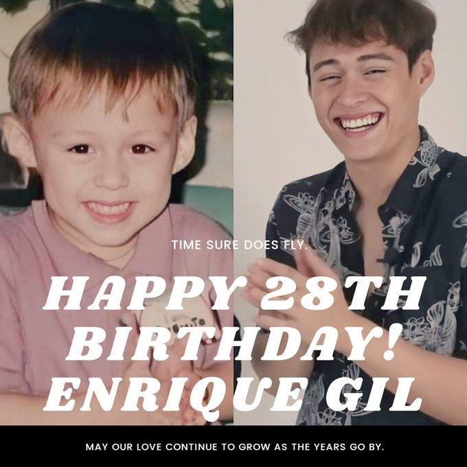 Happy Birthday Enrique Gil