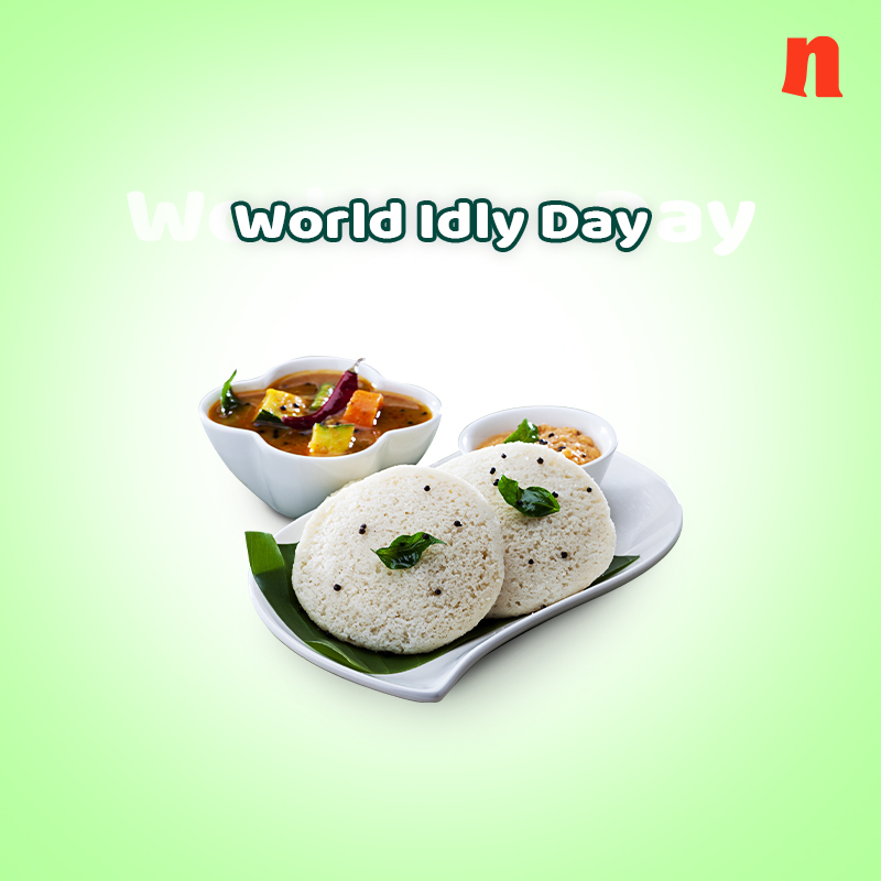 An ever-soft, never-boring, forever-delicious food item. No matter what,we will always celebrate idly in life!  #idlyday #worldidlyday #cookfromhome #India #indianfood