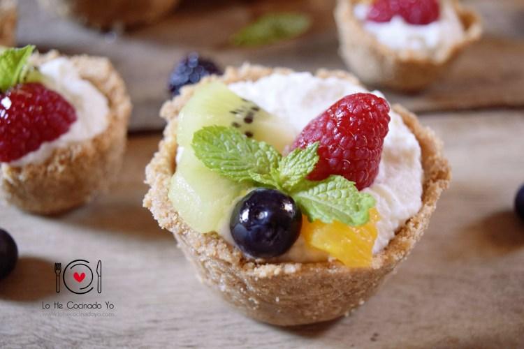 ¿Las has probado ya? Tartaletas de Frutas (Receta sin Horno) #Recipe #Food #Foodie
