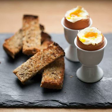 Soft-Boiled Eggs & Soldiers  Soft-boiled eggs with toast soldiers are a classic English breakfast. Simply cut toast into strips and serve with dippy eggs for a fun, kid-friendly breakfast recipe. #recipe #breakfast #healthy #kiddiemeal #foodpandaxfluke #Foodie #RecipeOfTheDay