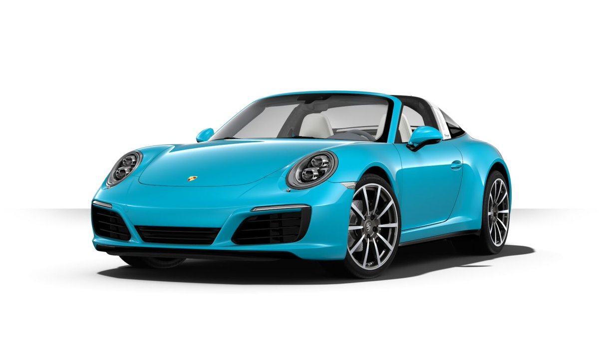My configurator magnum opus remains this 991 Targa 4, anyway.