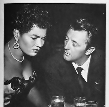 Pearl Bailey and Robert Mitchum...