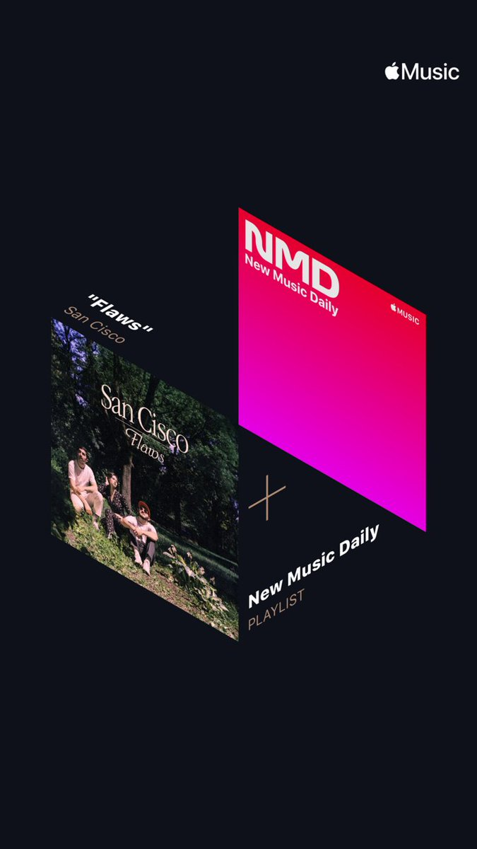 Also big love to @AppleMusic for the New Music Daily add.   You can stream the EP via the link here → https://t.co/HFK21dbaz7  https://t.co/duWyEyFAxa
