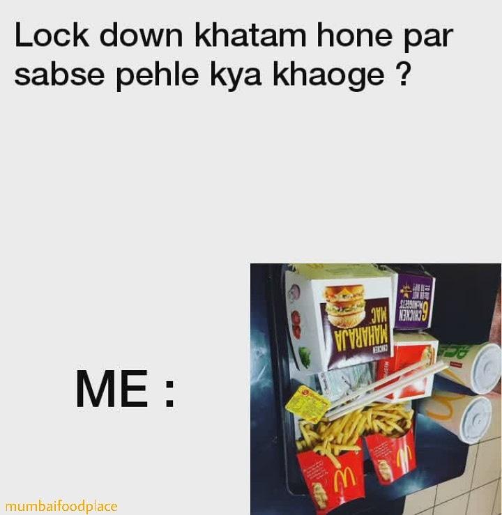 My first meal after lockdown.🤤🤤😜 . . . . . . . #quarantine #quarantinelife #dankmemes #indianmemes #dank #desi #indianmeme #indianfood #desimeme #indianmemes #indian