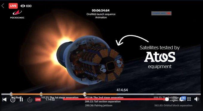 34 nuevos satélites en órbita desde el sábado 21 de marzo. ¿Adivinas qué equipo...