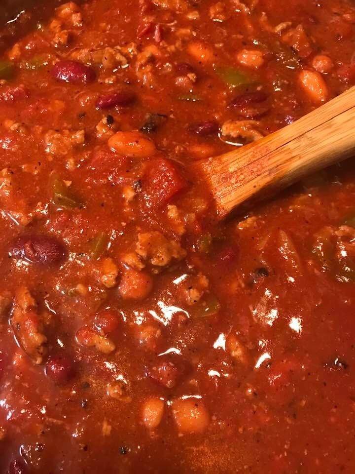Haven't made homemade chili this good in years… #Yum #ClubQuarantine