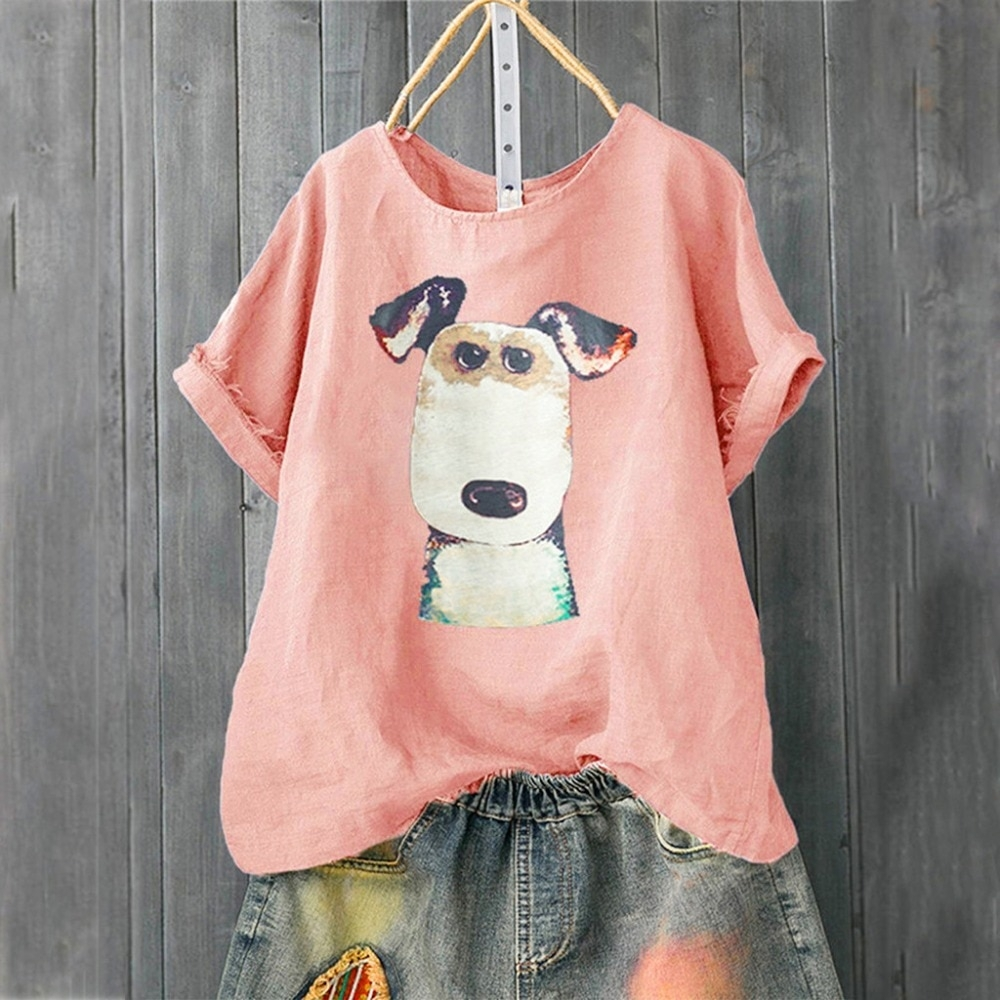 #dogstagram #dogs Women's Casual Dog Patterned Loose T-Shirt https://shift3dogs.com/womens-casual-dog-patterned-loose-t-shirt/…pic.twitter.com/3PLqLceUEg