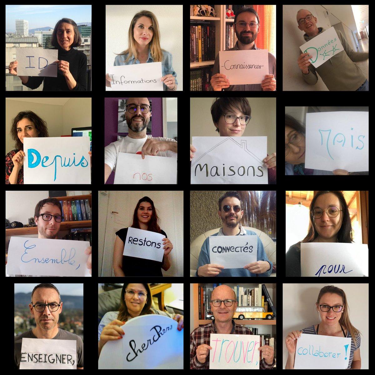La filière ID de la @HEG_GE est passée au télétravail mais elle continue de collaborer et d'échanger pour assurer la continuité des enseignements, projets et mandats. Merci à nos étudiant-e-s qui ont su s'adapter ! #stayhome #COVID19 #hegid https://t.co/awcKffoZsZ