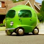 Image for the Tweet beginning: The @BirdsEye #Pea #car created