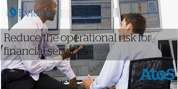 How to control operational risks for finance services with #Evidian Identity and access...