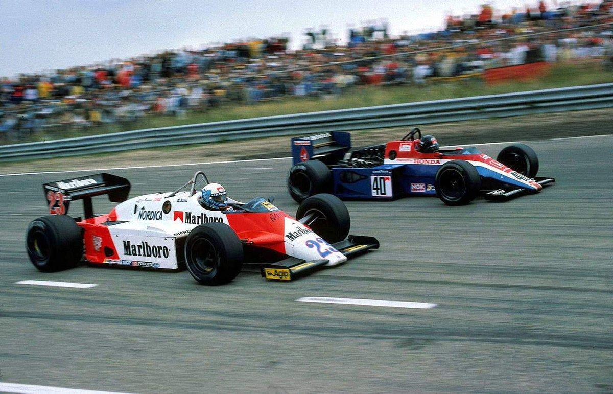 Phn16 On Twitter Mauro Baldi Alfa Romeo 183t Vs Stefan Johansson Spirit 201 Honda Ra163e V6t At Zandvoort F1 1983 Dutchgp