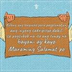 Image for the Tweet beginning: Taos pusong pasasalamat sa mga
